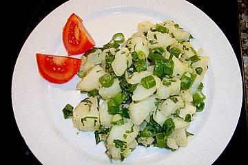 Kartoffelsalat auf griechische Art