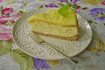 Zitronen Kasekuchen Mit Lemon Curd Von Pumpkin Pie Chefkoch