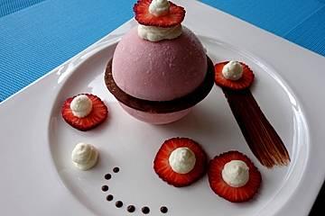 Erdbeer - Joghurt - Eis