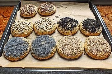 Glutenfreie Buchweizenbrötchen
