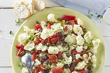 Blumenkohlsalat Napolitana