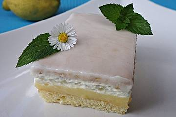 Zitronen - Kekskuchen