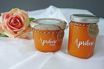 Traditionelle Aprikosenmarmelade