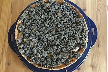 Birnen - Mohn Kuchen