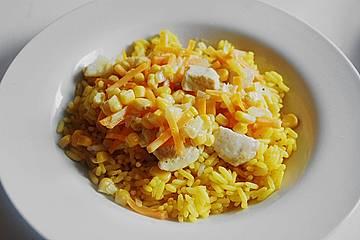 Mais - Karotten - Curry