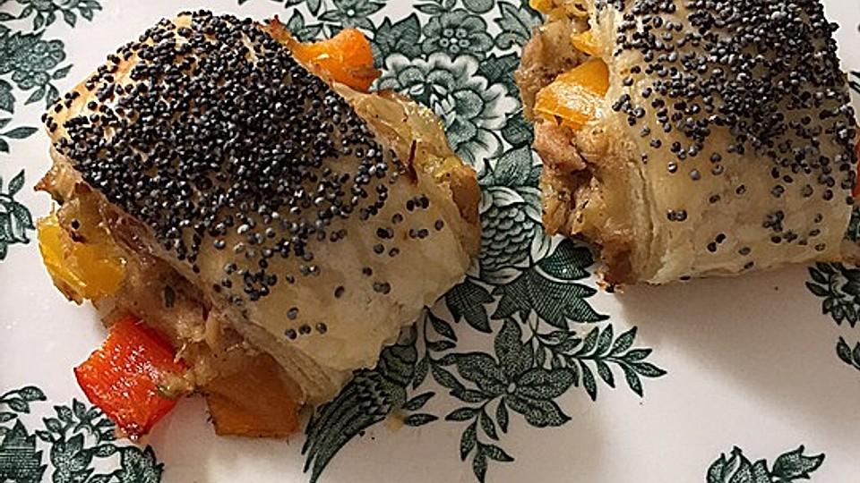Blätterteighäppchen mit Thunfischfüllung von eierbabs | Chefkoch
