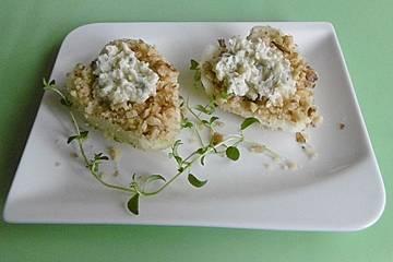 Birnen - Gorgonzola - Dessert