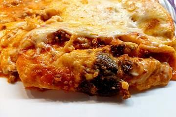 Einfache, schnelle Lasagne
