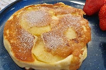 Dicke Obst-Pfannkuchen