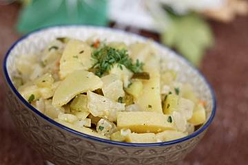 Harzer Käse - Kartoffel - Salat
