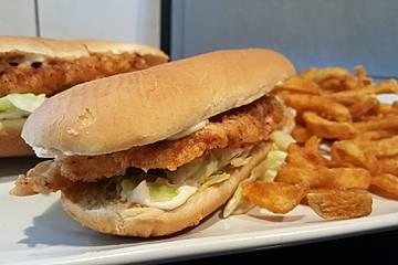 Schneller Studenten - Chickenburger