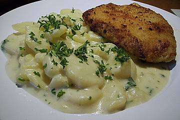 Großmutters Rahmkartoffeln