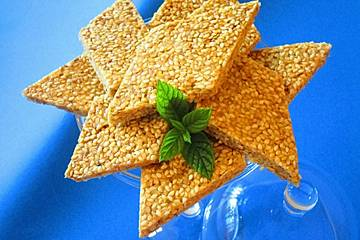 Karamell - Sesam - Kekse