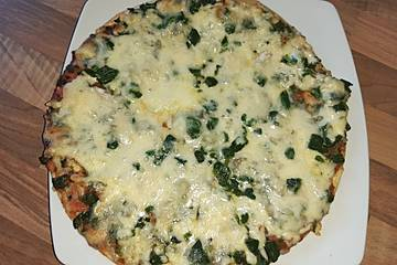 Spinat - Pizza