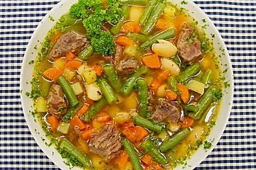 Feine Bohnensuppe