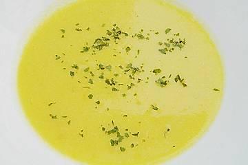 Pikante Kürbis - Ingwer Suppe