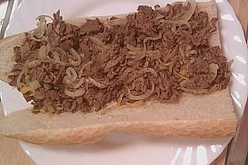 Philadelphia Cheese Steak - Sandwich
