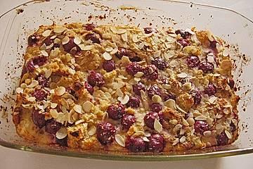 Kuchen - Sauerkirsch - Auflauf