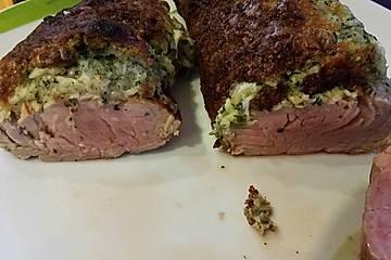 Schweinefilet mit Käse-Kräuter-Kruste