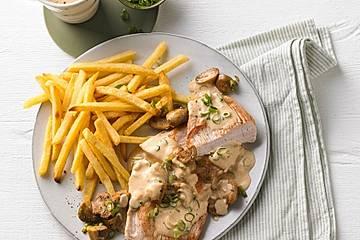 Andis Crème fraîche-Schnitzel
