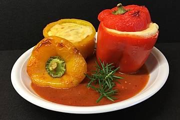 Würzige gefüllte Paprika
