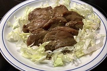 Marinade für Schweinefleisch zum Raclette