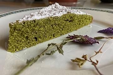 Grüner Tee Kuchen