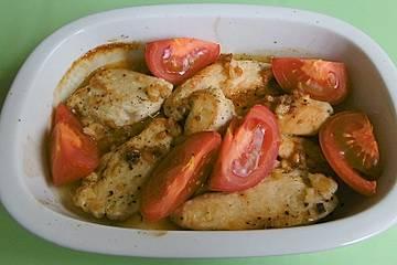 Hühnerbrustfilets aus dem Ofen