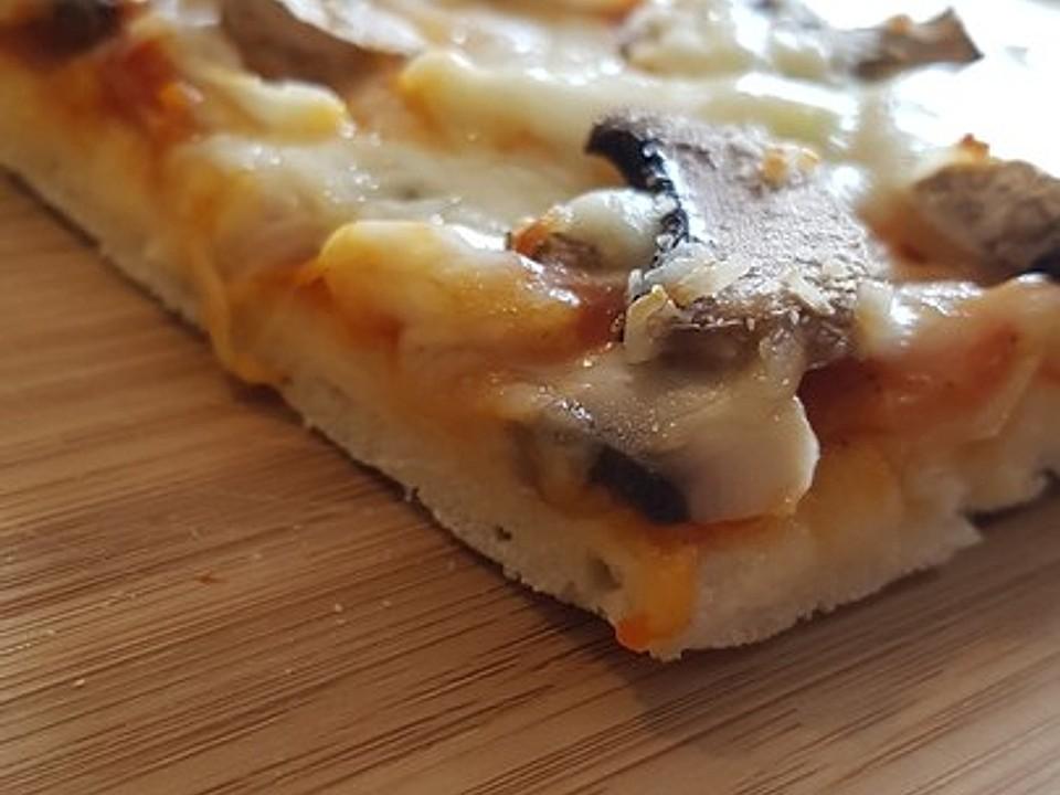 pizza backen umluft