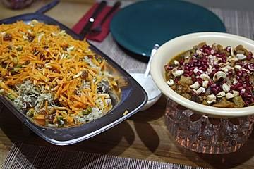 Kabile Palau - Reis mit Lamm, Karotten und Rosinen