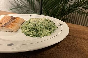 Emilys Spinat - Risotto