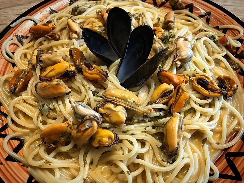 Diät eingelegte Muscheln