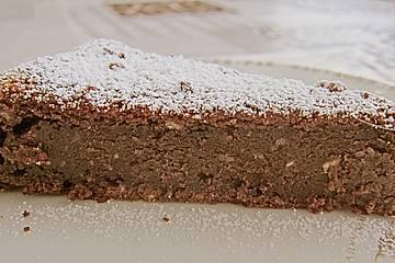Nutella - Nuss - Sahnekuchen