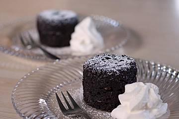 4 Minuten - Nuss - Tassenkuchen für die Mikrowelle
