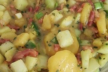 Schmorgurken-Kartoffelsalat