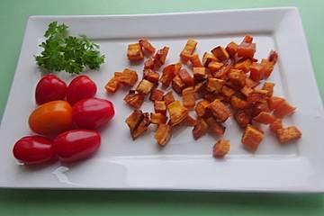 Süße Kartoffelecken