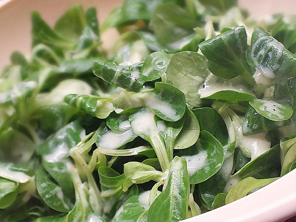 salatsoße feldsalat