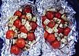 Tomaten-Kaesepaeckchen-mit-Grillkartoffeln