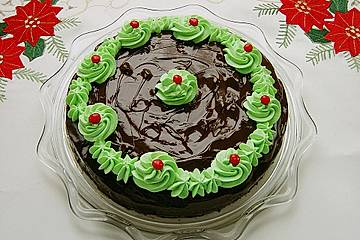 Mandel - Likör - Torte