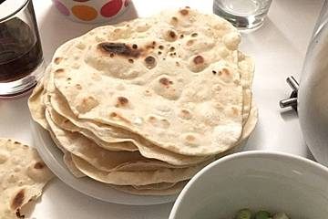 Chapati - indisches Fladenbrot