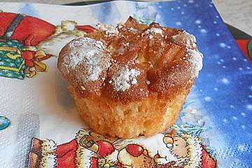 Nussfreie Apfelmuffins