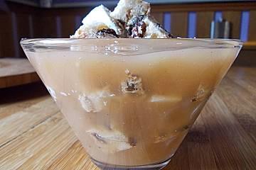 Apfelmus - Stollen - Dessert