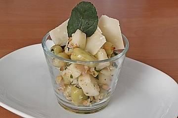 Fruchtiger Saubohnensalat