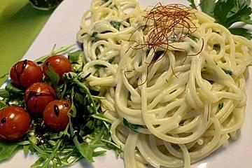 Spaghetti mit Mascarpone