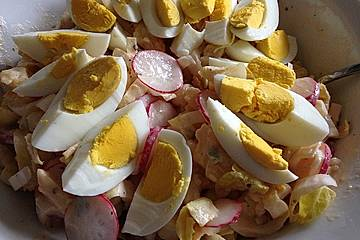 Belgischer Eier - Kartoffel - Salat