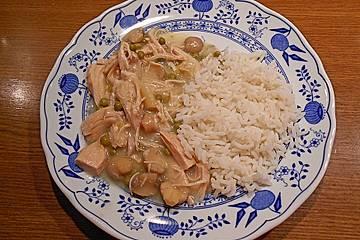 Rezept für hühnerfrikassee