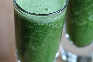 Green Smoothie Pina Colada - Spinat