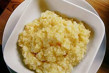 Kokosmilch - Reis mit Trockenfrüchten