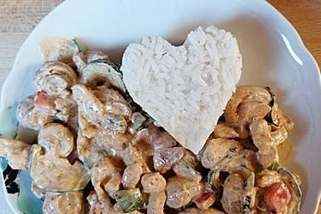 Hähnchen-Gemüse-Schlemmerpfanne