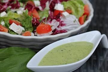 Salatsoße auf Vorrat
